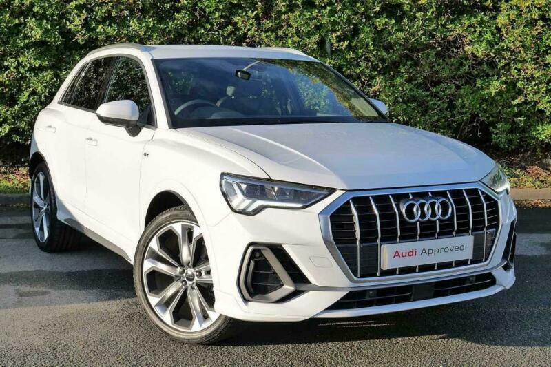 2021 Audi Q3 DIESEL ESTATE 35 TDI S Line 5dr S Tronic Auto SUV Diesel Automatic