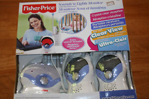 Fisher Price-Baby Monitor/Moniteur à Bébé
