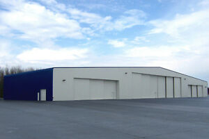 BARNS AND HANGERS FOR LONDON FROM KODIAK STEEL BUILDINGS