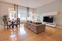 BEAUTIFUL FULLY FURNISHED CONDO IN OLD MONTREAL – 3 ½