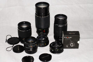Mint Condition Pentax lenses for Sony e-mount cameras
