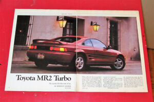 RETRO 1991 TOYOTA MR2 TURBO DETAILED ROAD TEST ARTICLE - SPORT