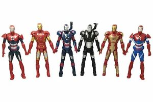 LOT of 6 New Iron man 3 Action Figure Marvel Legends Universe Mark Machine LOOSE