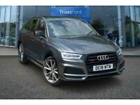 2018 Audi Q3 2.0 TDI Quattro Black Edition 5dr***With Front and Rear Parking Aid