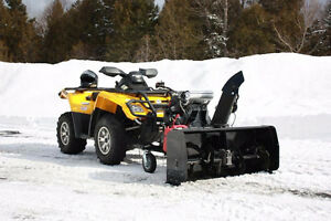 "ATV OR SIDE BY SIDE SELF POWERED 54"" SNOWBLOWER"