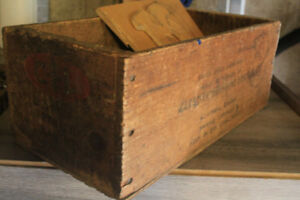 Vintage Ammo crate