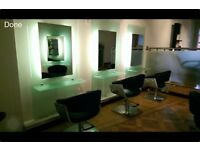 Hairdressing styling unit