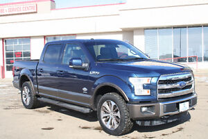 2016 Ford F-150 King Ranch Fully Load,Heated Leather/Moonroof