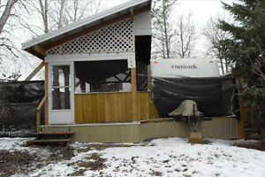 TRAILER AND RECREATIONAL LOT FOR SALE AT WAKAW LAKE