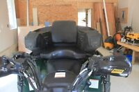 back seat for Yamaha Grizzly ATV