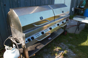 "72"" Stainless BBQ/Smoker For Sale"