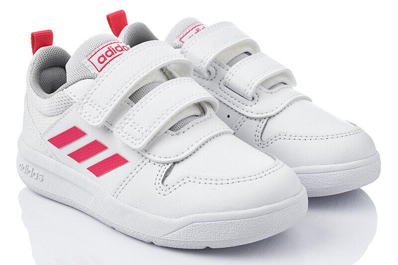 Weiß ADIDAS TENSAUR I Kinderschuhe Jungen Mädchen Sneaker Turnschuhe Sportschuhe