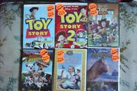 10 DVDs FOR SALE /TOYSTORY 1X2X3 AND SO ON'