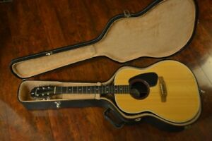 Applause acoustic guitar with hard case and strap - hardly used