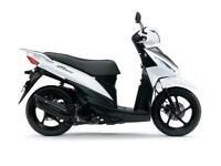 Suzuki Address 110, White