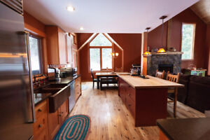Beautiful, Recently Renovated Home Backing Mount Fernie