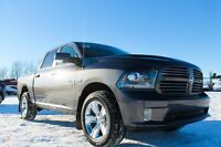 2016 RAM 1500 SPORT LOADED CREW CAB ............YOUR NEW WHIP !!