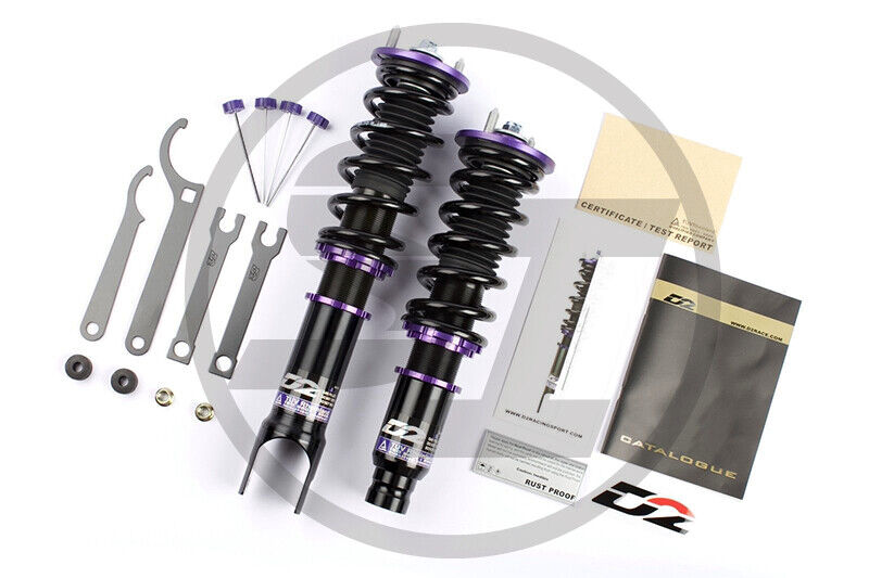 D2 RACING COILOVERS FOR BMW Z3 VERT 1996-2002 Z4 2006-2008 RWD 36 WAY ADJUSTABLE