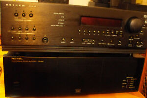 Anthem AVM2  5- channel processor with Rotel 5 channel amp