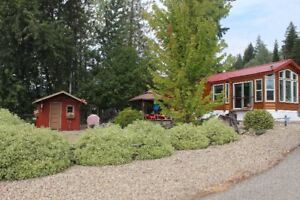 RV / Park model park, Shuswap water front living