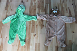 Costume Halloween Grenouille / Lion 18 mois