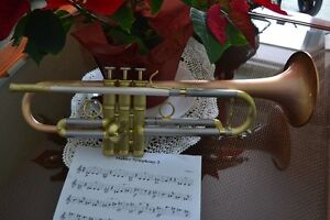 Custom Carol Brass Dizzy model pro trumpet