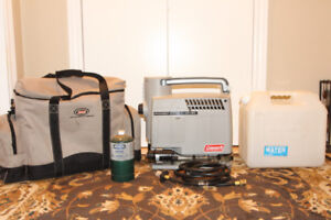 Coleman Portable Water Heater & Extras!!