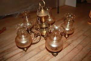 Lamp chandelier light fixture and Stain glass fixtures for sale