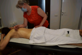 Deep tissue Lomi and Lymphatic Drainage therapy
