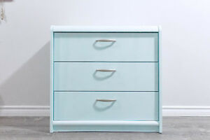 [★MUSTGO★] Used Dresser Tiffany Blue Newly Painted Chalky Finish
