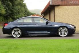 2014 BMW 6 Series Gran Coupe 3.0 640d M Sport Gran Coupe Steptronic 4dr