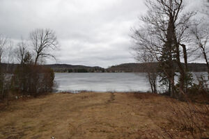 WATERFRONT LOT ON DIAMOND LAKE