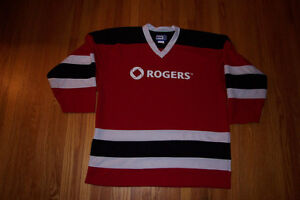 OHL Guelph Storm Roger TV studio jersey
