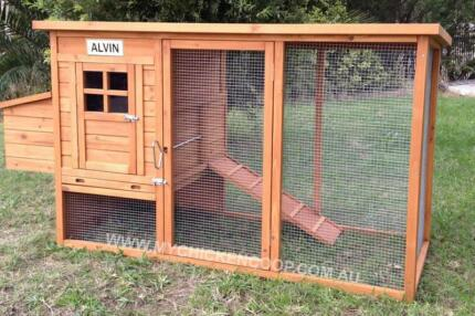 Wooden Chicken Coop - We Deliver Anywhere In Queensland