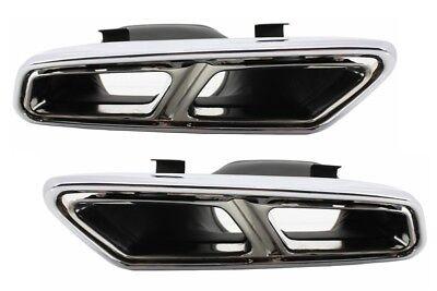 Auspuff Tips für MERCEDES W222 W212 S212 Facelift CLS W218 SL R231 E65 S65 SL65