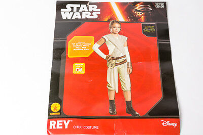 Star Wars Rey Child Halloween Costume with Original Packaging Size Med 8-10