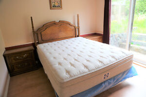 QUEEN / DOUBLE  SOLID WOOD BED ROOM SET DeLiVeRy