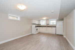 Bright 2 Bedroom Basement Fully Renovated near River & Krug