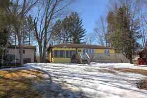 COTTAGE FOR SALE ON GOLDEN LAKE WITH BUNKIE