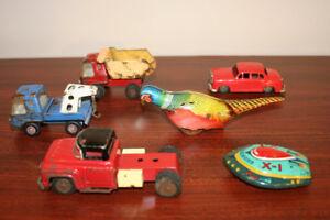 Assorted Vintage/Old Tin Toys (Japan) - $10 EACH