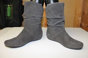 Steve Madden Grey Suede Slouch Boots London Ontario image 2