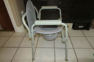 Multi Purpose Adjustable Commode Chair - Bedside/Toilet