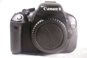 Price Lowered! Canon Rebel T3i w/2Batteries, Charger St. John's Newfoundland image 4