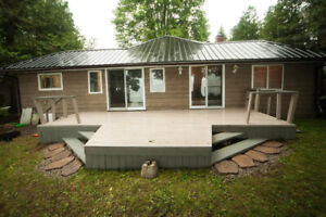 Amazing Waterfront Cottage in Orillia very Cozy