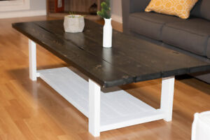 Custom Made to Your Specifications: Coffee Table & End Tables