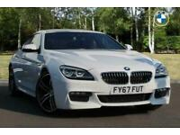 2017 BMW 6 Series 640d M Sport Gran Coupe Auto Saloon Diesel Automatic