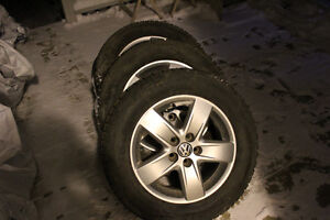195 65 15 winter tires with rims