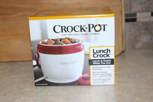 Lunch size crock pot