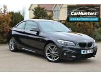 2017 BMW 2 Series 2.0 220D M SPORT 2d 188 BHP Coupe Diesel Manual