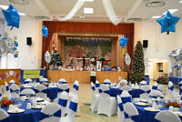 Banquet hall for 250 guests